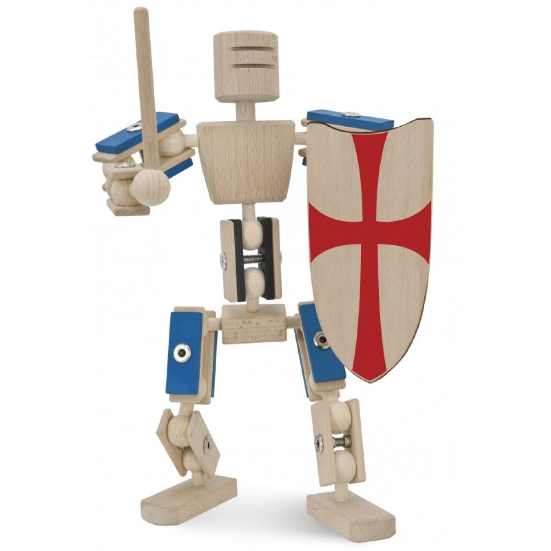 Helden aus Holz: Ritter – Holzspielzeug