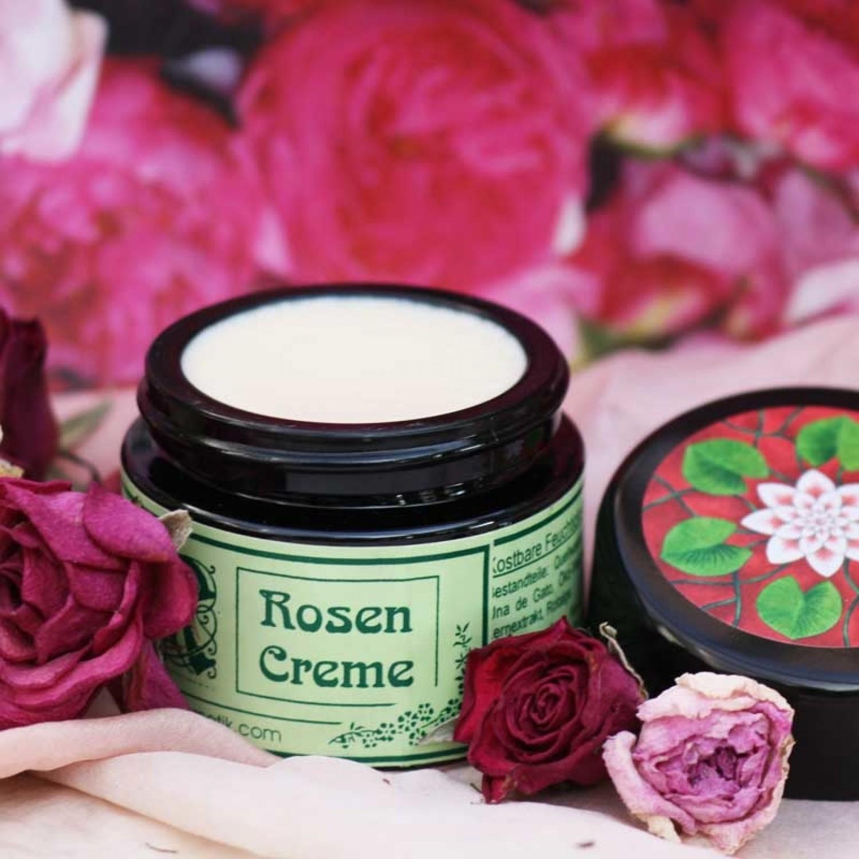 Maienfelser Rosencreme - Bio Feuchtigkeitscreme