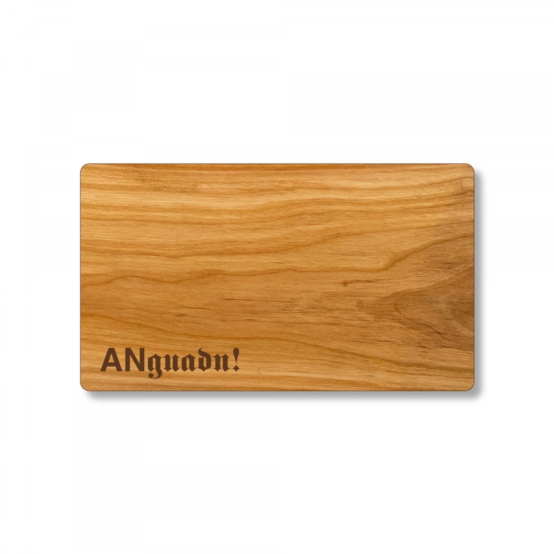 ANguadn Öko Brotzeitbrett aus Kirschholz | Echtholz