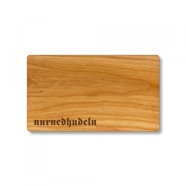 nurnedhudeln Schneidebrett aus Kirschholz | Echtholz