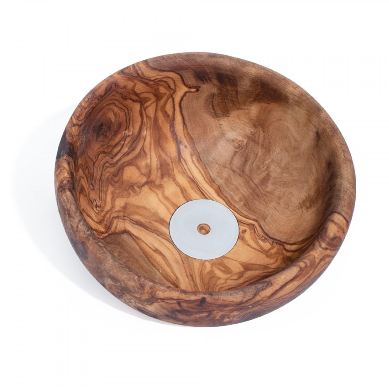 Seifenschale BASSIN aus Olivenholz, ohne Sockel » D.O.M.