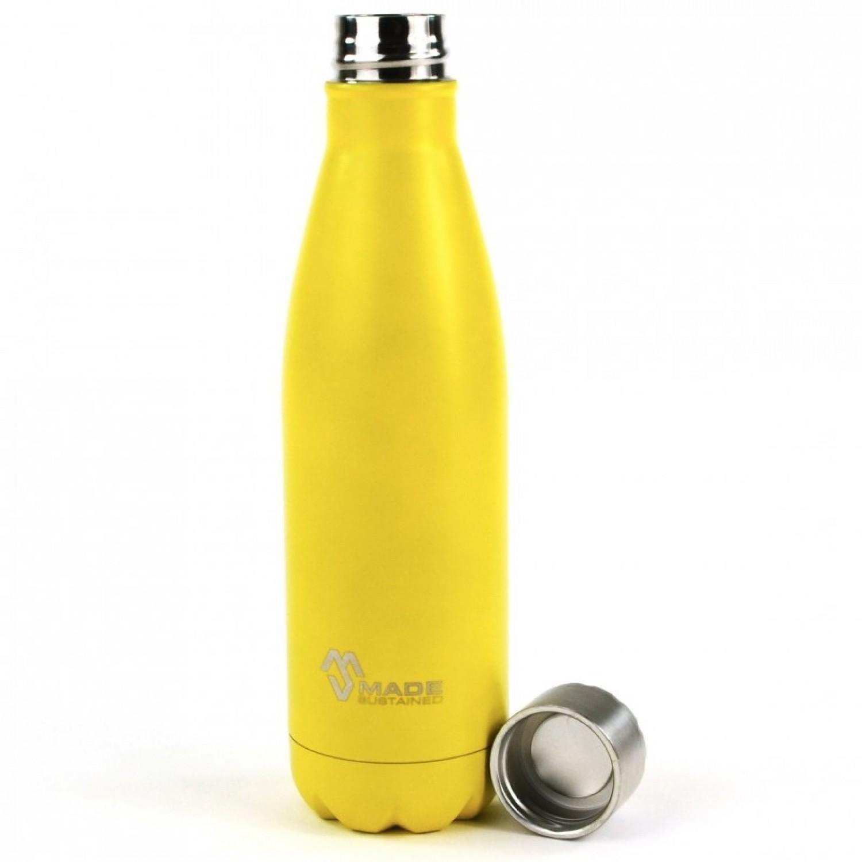 Edelstahl-Flasche sonnengelb | Made Sustained Knight Bottle