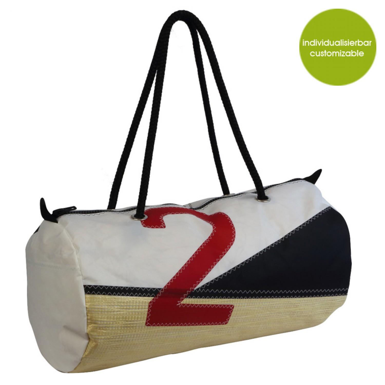 Upcycling Sporttasche & Reisetasche Sail Boat 2
