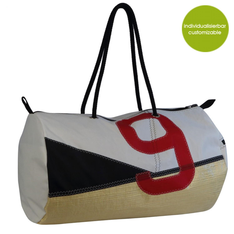 Sporttasche und Reisetasche XL Sail Boat 9 | Marron Rouge