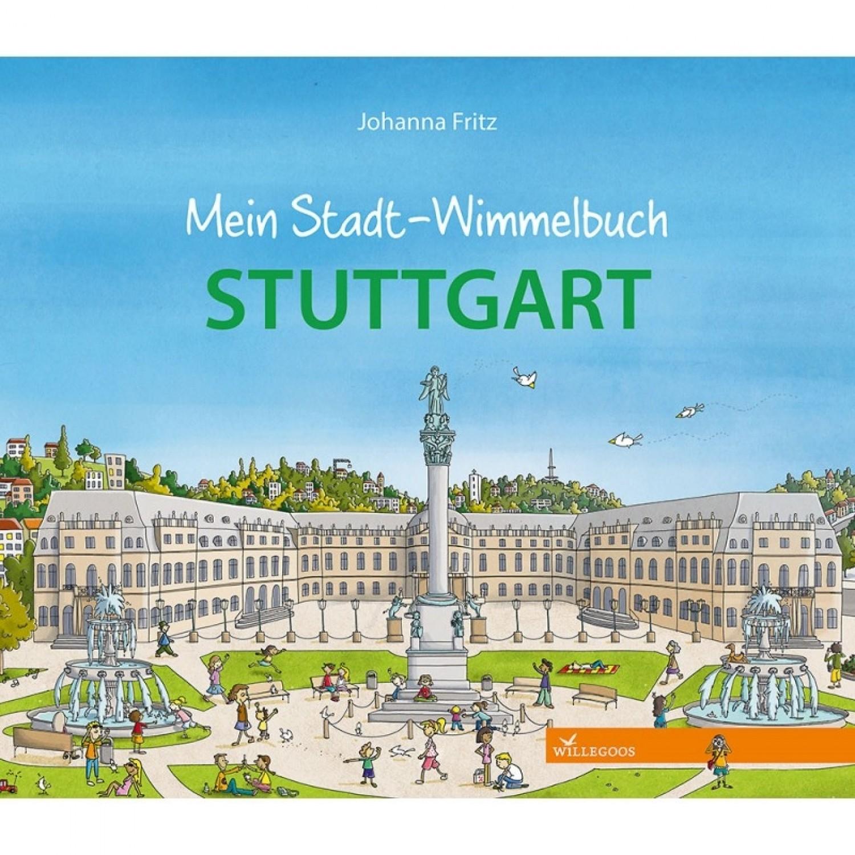 Stuttgart Kinderbilderbuch - Wimmelbuch | Willegoos Verlag