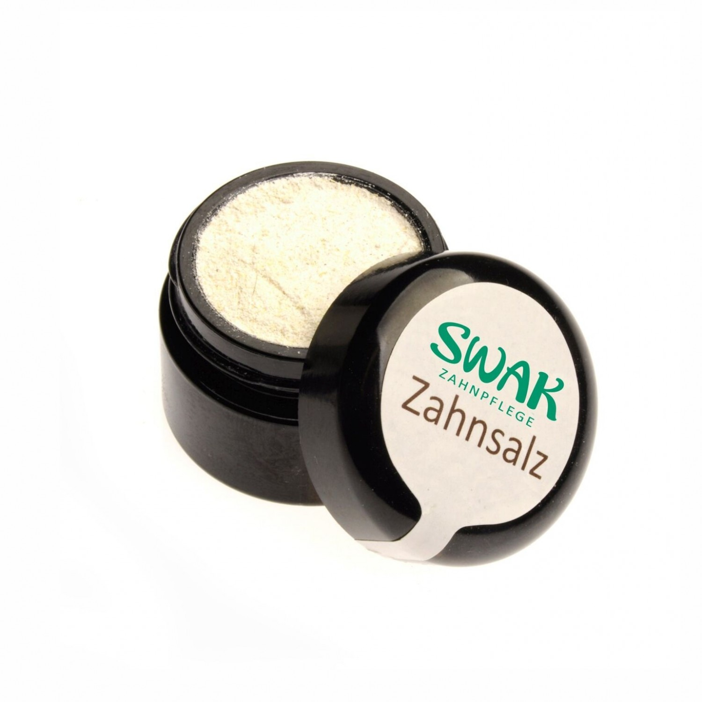 Ökologische Zahnpflege mit SWAK Zahnsalz
