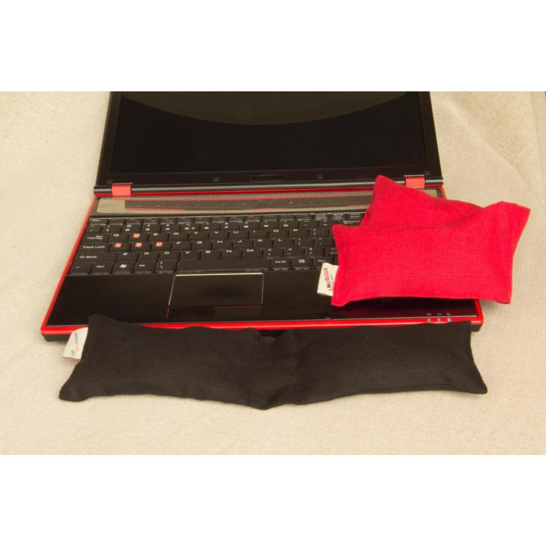 McRelax Tastaturkissen mit Bio-Hirseschalen + Kautschuk