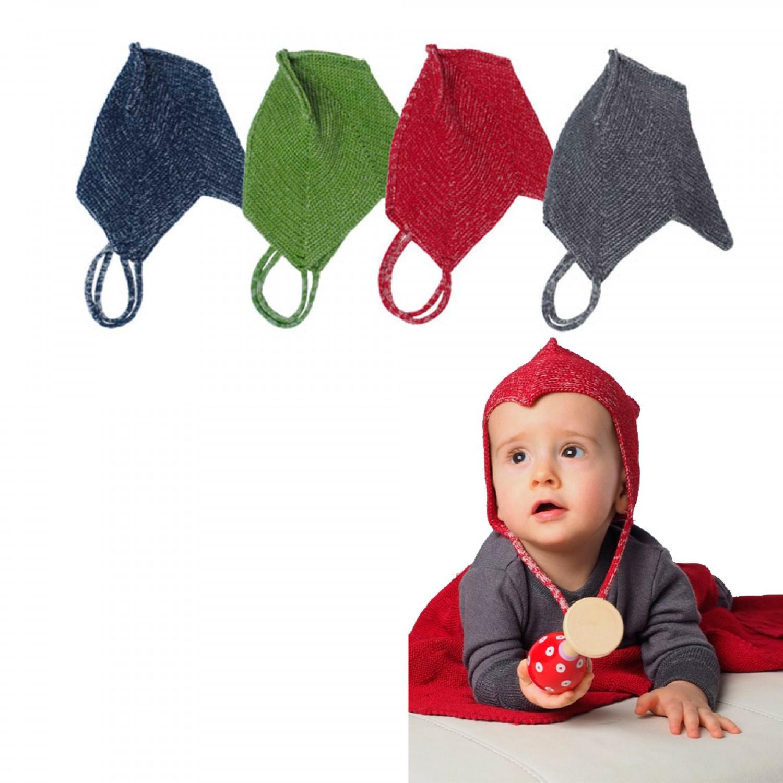 Baby Teufelsmütze Camillo aus Bio-Wolle & Seide | Reiff