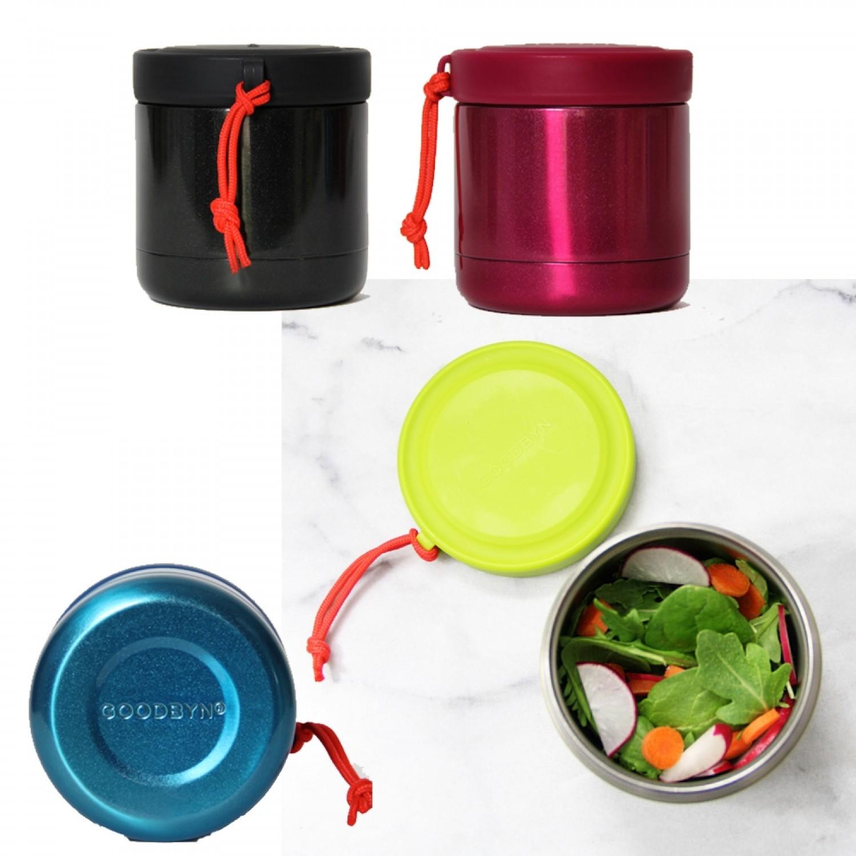 Goodbyn Edelstahl Thermo Lunchbox 350 ml viele Farben