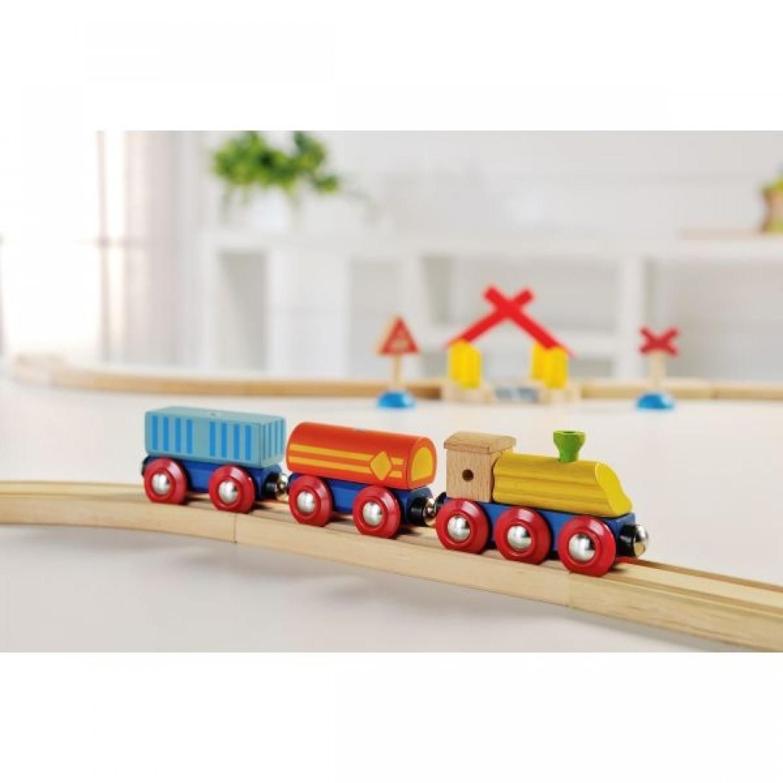 EverEarth Holz Transport-Eisenbahn aus FSC Holz