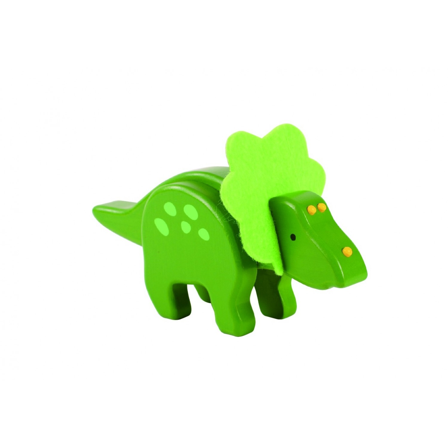 EverEarth Triceratops Dinosaurier aus FSC® Bambus Holz