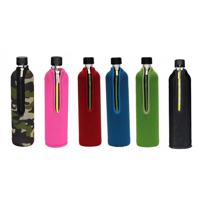 Doras Trinkflasche mit Neoprenbezug