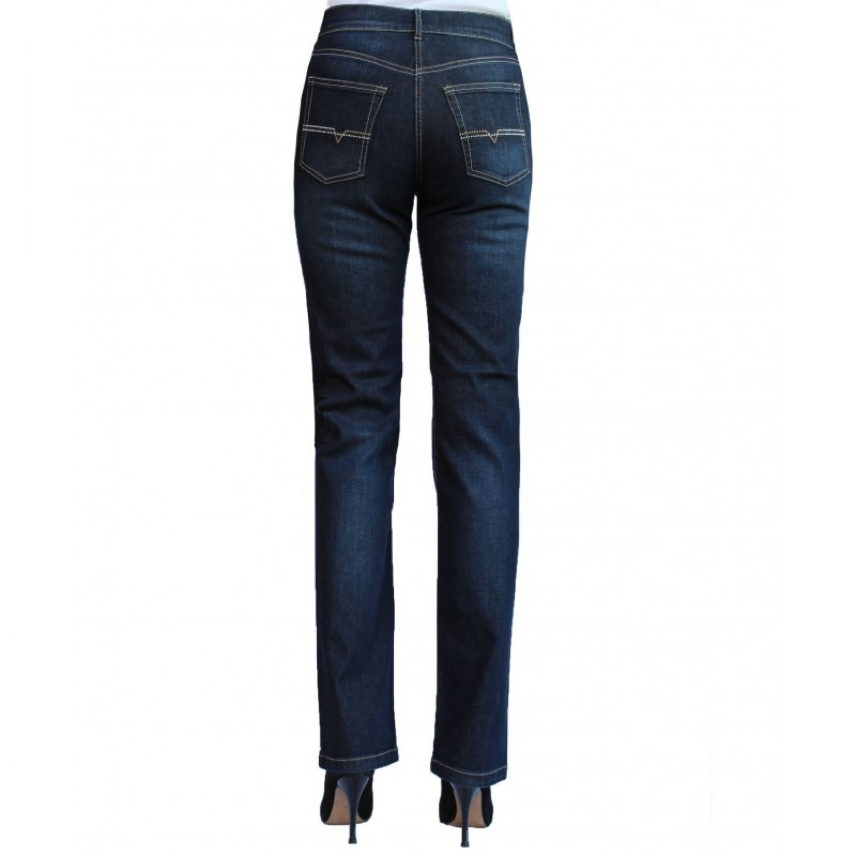 f6b69134de694 bloomers Slim Fit Bio Jeans Dark Blue