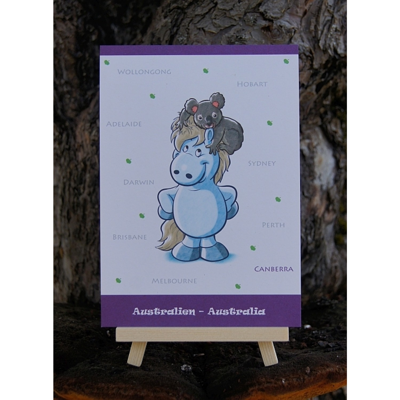 Postkarte - Weltreise - Australien