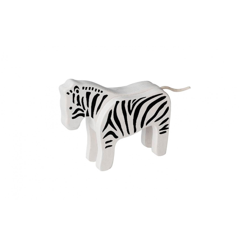 EverEarth Bambus Zebra FSC® Holzfigur