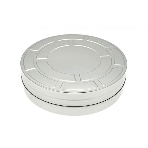 Große Filmdose - Weißblech Aufbewahrungsdose » Tindobo