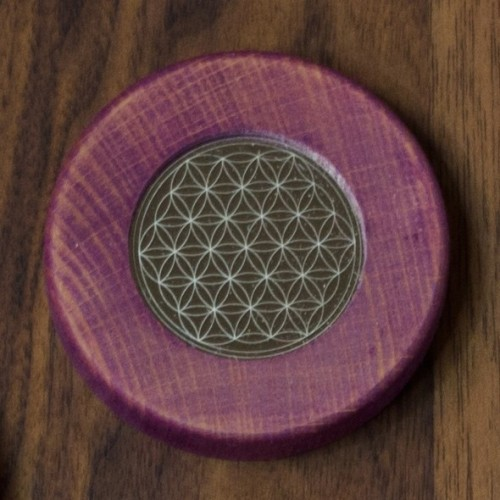 Magnete Blume des Lebens, flieder   Living Designs