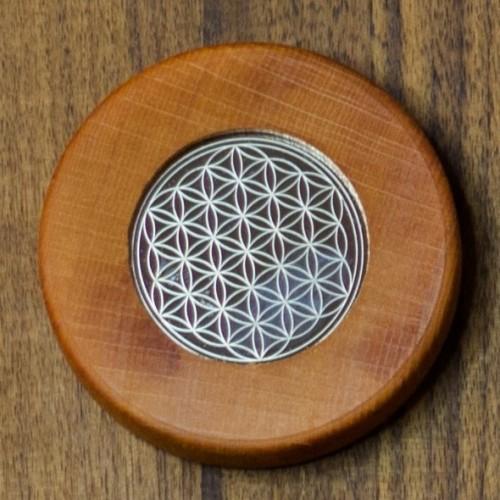 Magnete Blume des Lebens, mandarin   Living Designs