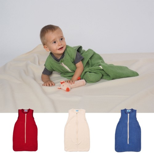 Baby Plüschschlafsack ohne Arm Bio-Baumwolle | Reiff