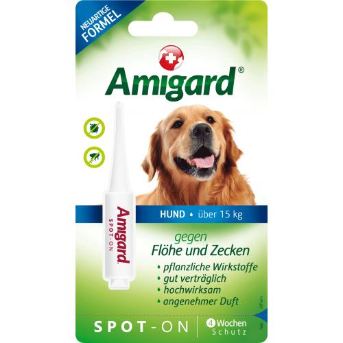 Amigard Spot On für Hunde 15 bis 30kg, 1x4ml