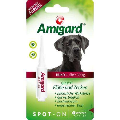 Amigard Spot-on für sehr große Hunde ab 30 kg, 1x6ml