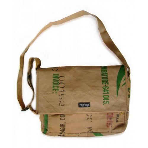 Messenger Bag Teabag - recycelte Teeverpackungen | Ragbag