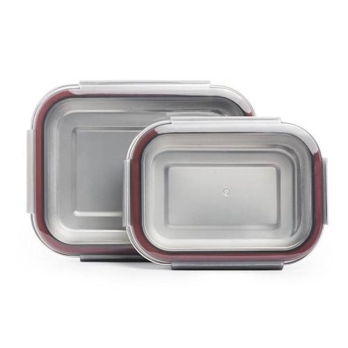 Edelstahl Frischhaltedose, einzeln oder im Set » mehr grün