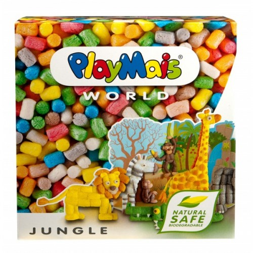 PlayMais® World Jungle – Öko Spielzeug zum Basteln