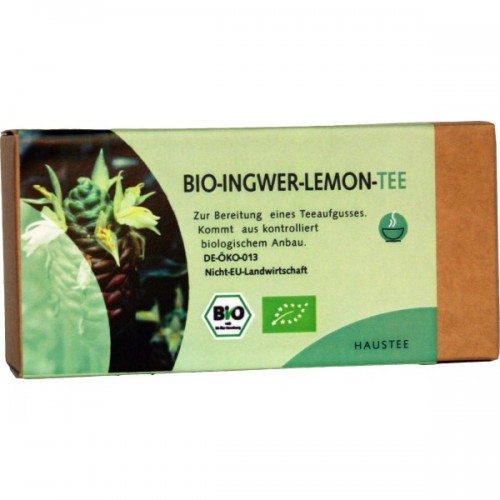 Bio Ingwer-Lemon Tee | 25 Filterbeutel | Weltecke