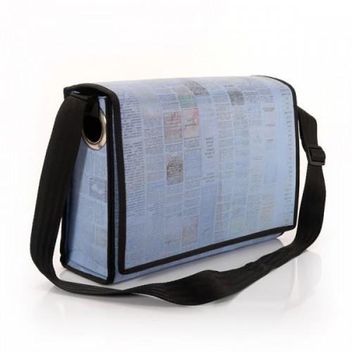 Messenger Bag   Umhängetasche   recyceltes Plastik
