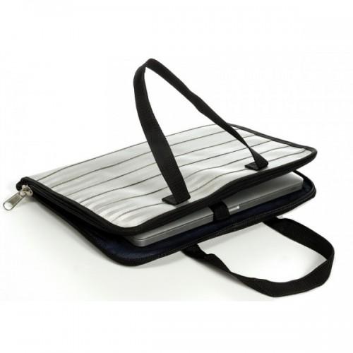 Laptop Tasche aus Recycling Sicherheitsgurt