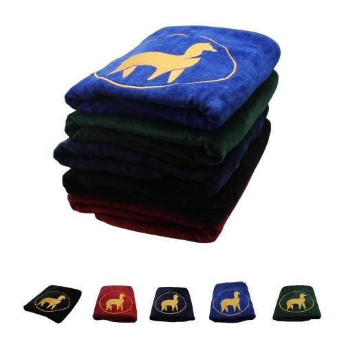 Badehandtuch OEKO-TEX® Baumwolle mit Alpaka Stickerei