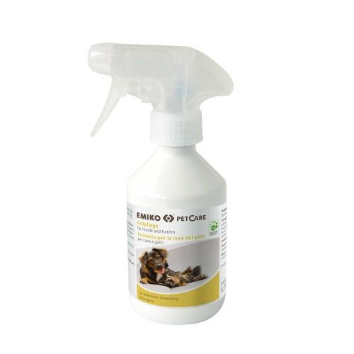 Emiko PetCare Fellpflege Pflegespray für Hund und Katze