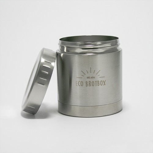 Isolierbehälter LI 0,35 L aus Edelstahl | Ecobrotbox