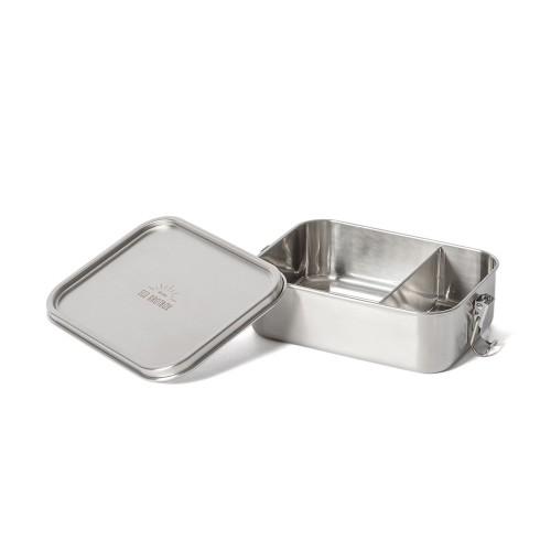 Bento Classic+ Edelstahl Lunchbox, auslaufsicher mit festem Trennsteg