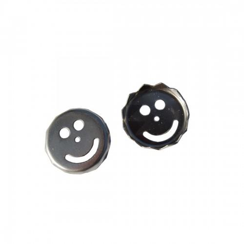 2 x Ersatzplättchen SMILE für Magnetseifenhalter | D.O.M.