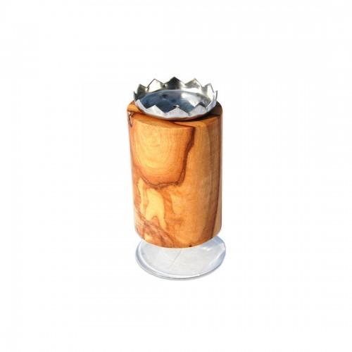 Olivenholz Magnetseifenhalter PISA mit Saugnapf | D.O.M.