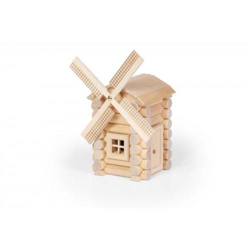 VARIS Windmühle 47 – Holzbaukasten