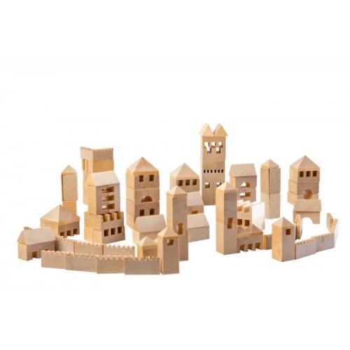 VARIS Städtebau 107 Baukasten aus Öko Holz