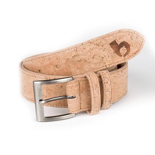Cork Belt - lederfreier Gürtel aus Kork | bleed