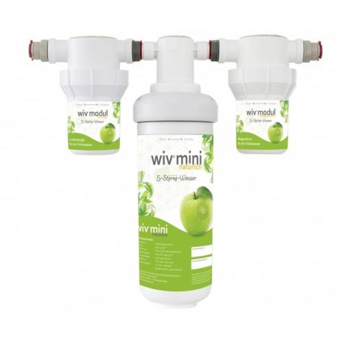 WiV mini Wasserfiltersytem inkl. engergy & magnesium | BBB Wasserprofis