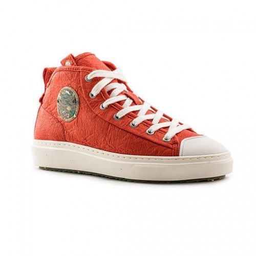 Vegane Mid Lace Sneaker WAHOO » Zouri
