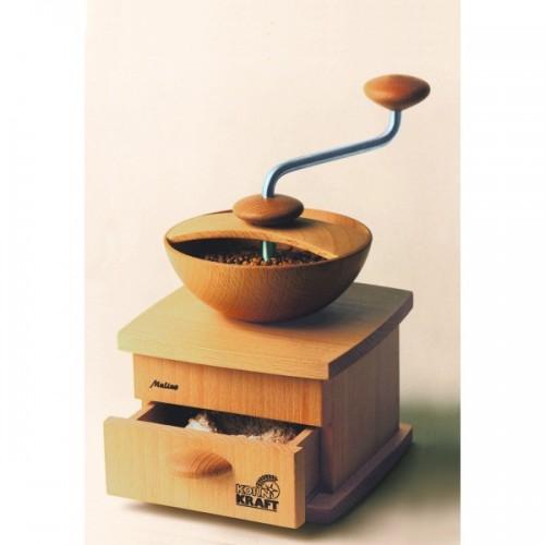 Kaffeemühle - Getreidemühle Mulino aus Buchenholz | Kornkraft