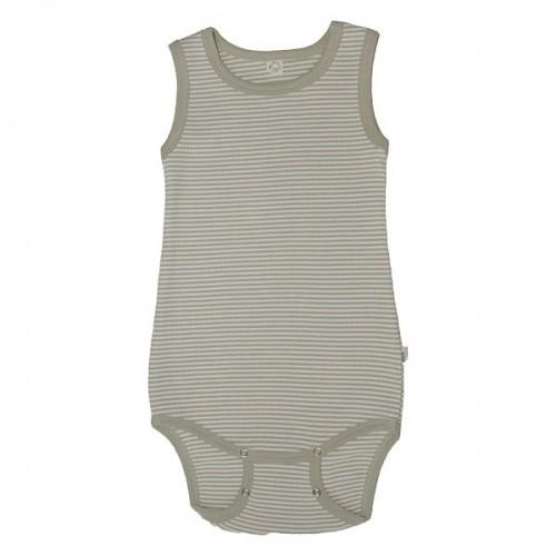 Baby Sommerbody ohne Arm aus Bio-Baumwolle | Popolino