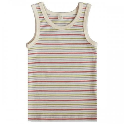 Iobio Unterhemd Bio Baumwolle multicolor | Popolino