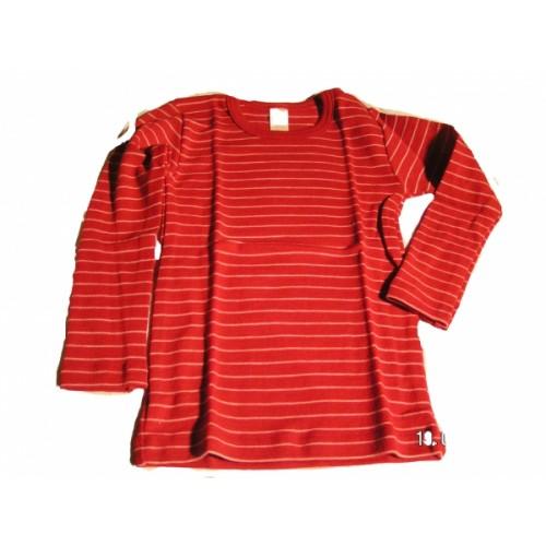Baby Unterhemd Langarm Shirt kirschrot | Engel
