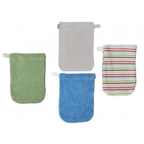 Popolini Waschhandschuh verschiedene Farben