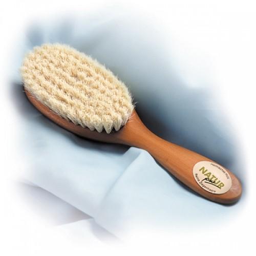 Kinder Haarbürste mit Naturborsten | Kammmacherei Kost