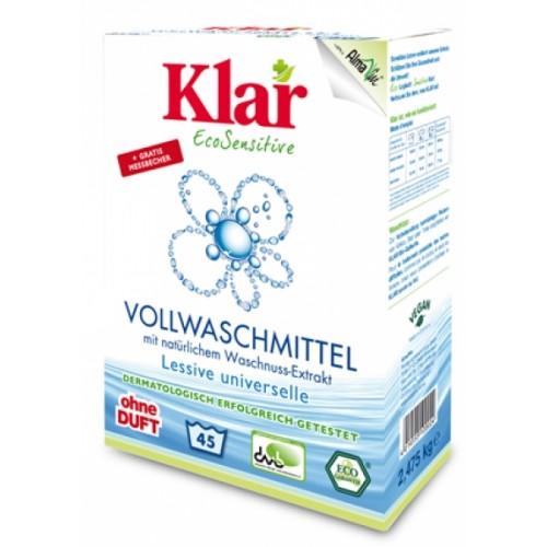 Bio & veganes Vollwaschmittel mit Waschnuss Extrakt | Klar