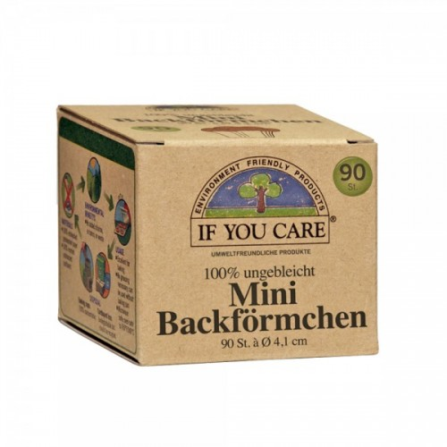 If You Care Mini Backförmchen ungebleicht 90 St. | IYC
